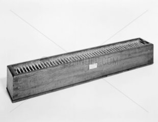 The original Cruickshank galvanic Trough