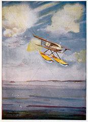 Curtiss Army Biplane  Schneider Trophy programme  September 1929.