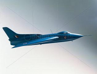 Avro 707 Delta wing aircraft  1949.