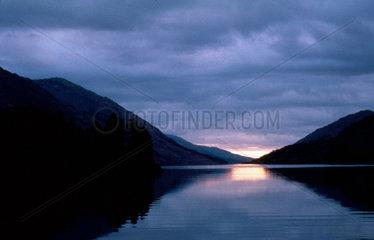 Loch Shiel viewed from Glenfinnan Monument
