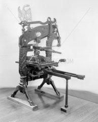 Columbian printing press  1837.