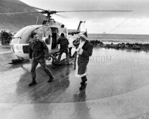 Father Christmas  St Kilda  21 December 1978.
