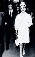 Richard Burton and Elizabeth Taylor  British actors  21 June 1963.