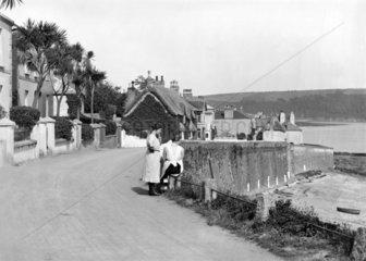 Cornish village  1922.