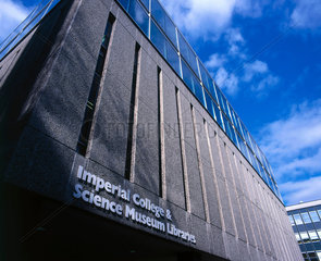 Imperial College and Science Museum library