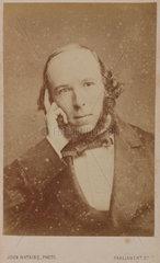 Herbert Spencer  English social philosopher  c 1860s.