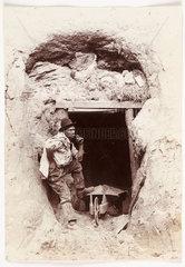A miner  c 1890.