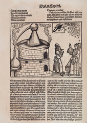 Distillation still and astrologers  1512.