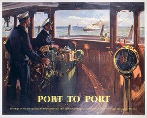 'Port to Port'  BR (SR) poster  1957.