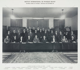 Ninth Solvay Physics Conference  Brussels  1951.