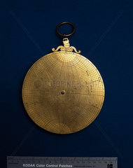 Planispheric astrolabe  c 1570.