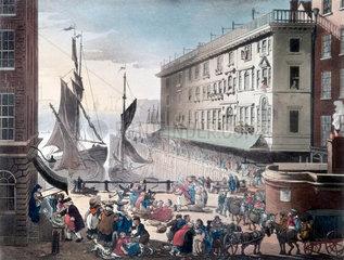 Billingsgate Market  London  1808.