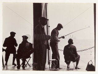 Men fishing  c 1930.