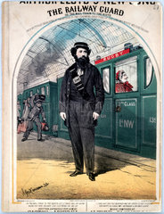 'The Railway Guard'  1870.