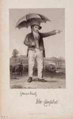 John Campbell  Scottish philanthropist  c 1820.