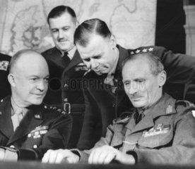 Ike and Monty  February 1944.