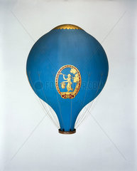 The Montgolfier hot air balloon 'Le Flesselles'  1784.