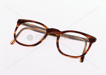 National Health Service spectacles with mock tortoiseshell frames  1970-1980.