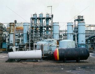 Courtaulds chemical works  Spondon  Derby.