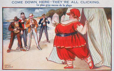 'Come Down Here - They're All Clicking'  c 1910-1915.