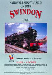 'National Railway Museum on tour  Swindon'  1990.