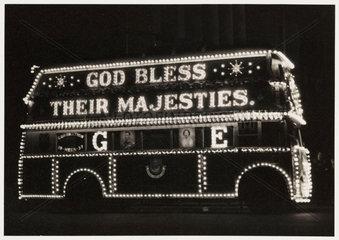 Illuminated bus  1937.