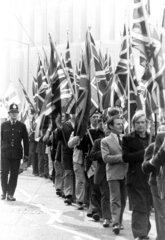 National Front demonstration  Bradford  April 1975.