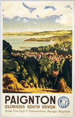 'Paignton - Glorious South Devon'  GWR post