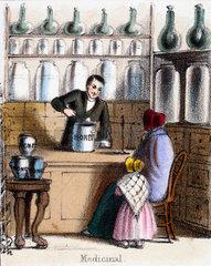 'Medicinal'  c 1845.
