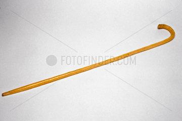 Polythene walking stick  1938.