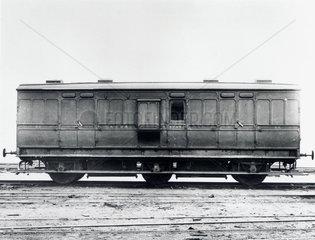 Guard's van  early 20th century.