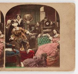 'Blind Man's Buff'  c 1870 .