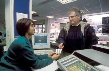 Leeds ticket office  2001.