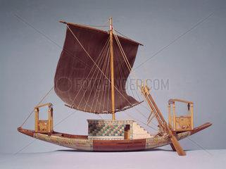 Egyptian ship  c 1300 BC.