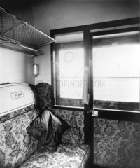 LNER first class compartment  1944.
