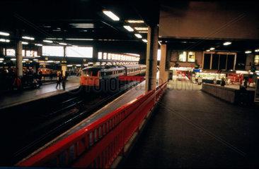 Euston Station  London  c 1990-1995.
