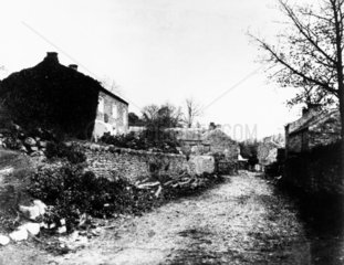 Country lane  c 1845.