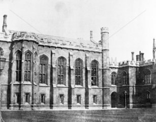 Quadrangle  Corpus Christi College  Cambridge  c 1841.