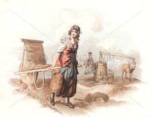 'Brick Maker'  1808.