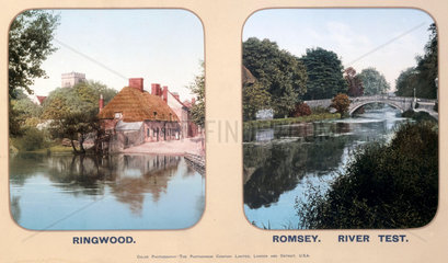 Ringwood and Romsey  Hampshire  1910s.