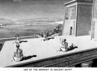 'Use of the Merkhet in Ancient Egypt'.