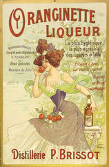 Oranginette liqueur  c 1900.