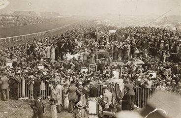 Epsom Racecourse  Derby Day  2 June 1932.
