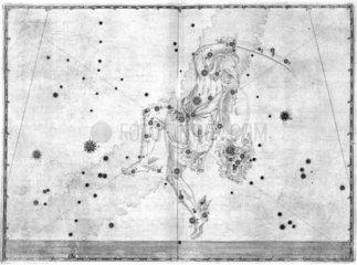 The constellation Perseus  1603.