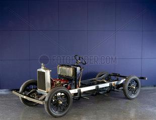 Morris 'Cowley' motor car chassis  1929.