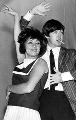 Paul McCartney and Chita Rivera  July 1964.