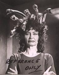 Prudence Hyman as Megaera the Gorgon  1964.