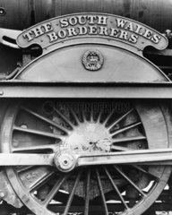 'The South Wales Borderers' nameplate and