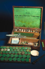 R B Ede's portable laboratory  English  1840-1900.