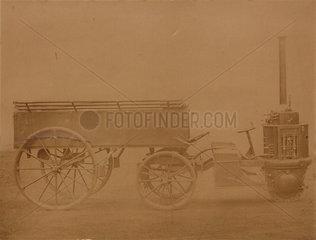 Perkins steam carriage  1870.